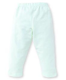 Ollypop Full Length Solid Colour Leggings - Light Green