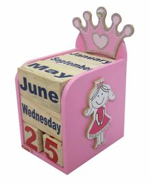 Kidoz Princess Motif Calendar Pack Of 5 - Pink