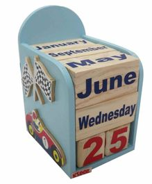 Kidoz Racing Motif Calendar Pack Of 5 - Blue