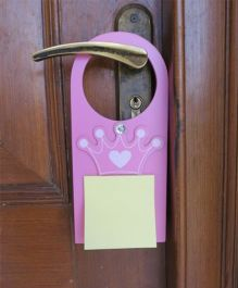 Kidoz Door Hanger Princess Motif Pack Of 5 - Purple