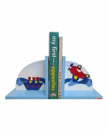 Kidoz Super Economy Bookend Transport Theme Pack Of 5 - Blue