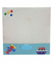 Kidoz Super Economy Pin Board Pack Of 5 - Blue