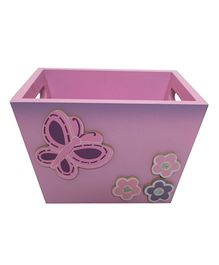 Kidoz Butterfly Motif Utility Container Pack Of 5 - Pink