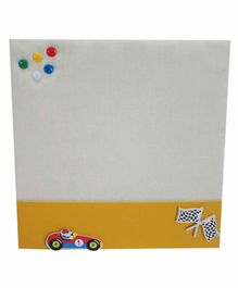 Kidoz Super Economy Pin Board Pack Of 5 - Yellow