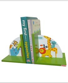 Kidoz Super Economy Bookend Animals Theme Pack Of 5 - Multi color