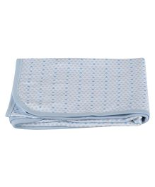 Colorfly Double Ply Blanket Large Size - Blue