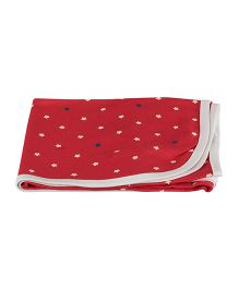 Colorfly Single Ply Blanket Large Size - Red