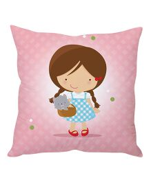Stybuzz Cushion Cover Printed - Pink