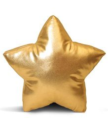 Stybuzz Star Shape Cushion - Golden