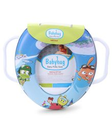 Babyhug Soft Potty Seat With Handle