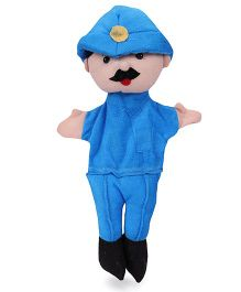 IR Hand Puppets Community Workers 7 Pieces - 38 cm