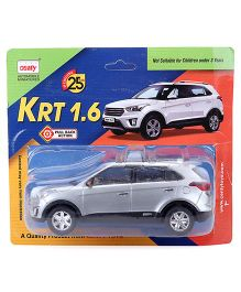 Centy Pull Back Action Toy Car - Silver