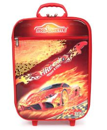 Simba Majorette Speed Fire Car Luggage Trolley - Red