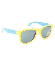 Babyhug UV 400 Kids Sunglasses - Yellow and Blue