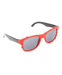 Babyhug UV 400 Kids Sunglasses - Red and Grey