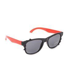 Babyhug UV 400 Kids Sunglasses - Black and Red