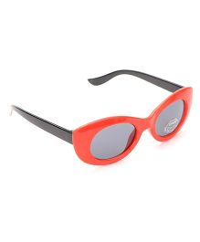 Babyhug UV 400 Kids Sunglasses - Red and Black