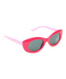Babyhug UV 400 Kids Sunglasses - Light And Dark Pink