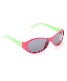 Babyhug UV 400 Kids Sunglasses - Pink and Green