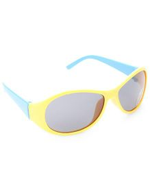 Babyhug UV 400 Kids Sunglasses - Yellow and Blue