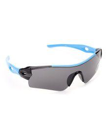 Babyhug UV 400 Kids Sunglasses - Grey and Blue