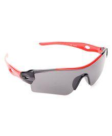 Babyhug UV 400 Kids Sunglasses - Grey and Red