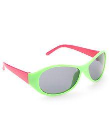 Babyhug UV 400 Kids Sunglasses - Green and Pink