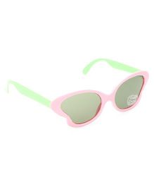 Babyhug UV 400 Kids Sunglasses - Light Pink and Green