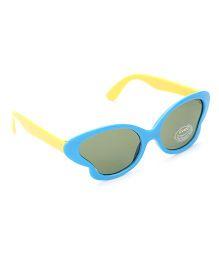 Babyhug UV 400 Kids Sunglasses - Blue and Yellow