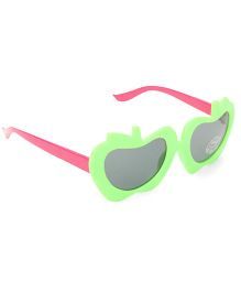 Babyhug UV 400 Kids Sunglasses - Green and Pink