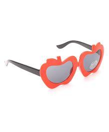 Babyhug UV 400 Kids Sunglasses - Red and Black