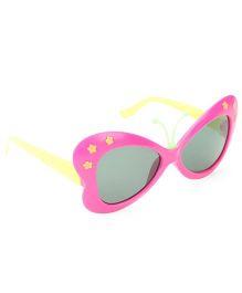 Babyhug UV 400 Kids Sunglasses - Pink and Yellow