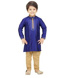 Shree Shubh Ethnic Kurta Pajama Set - Blue