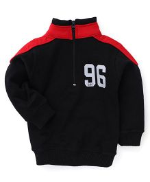 Doreme Full Sleeves Printed Sweatshirt - Black