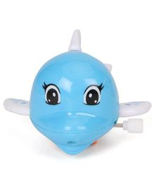 Kumar Toys Wind Up Fish Toy - Blue