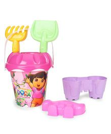Dora Beach Small Bucket With Accessories