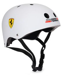 Ferrari Junior Helmet - White