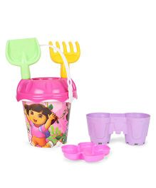 Dora Beach Bucket With Accessories