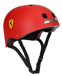 Ferrari Junior Helmet - Red