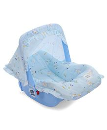 Mee Mee 5 In 1 Baby Cozy Carry Cot Cum Rocker - Blue