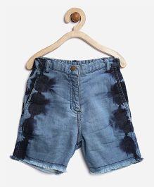 Stylestone Denim Washed Shorts - Blue