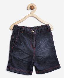 Stylestone Dark Trendy Shorts - Blue