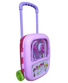 Emob Musical Doctor Play Set With Trolley Bag - Pink Purple