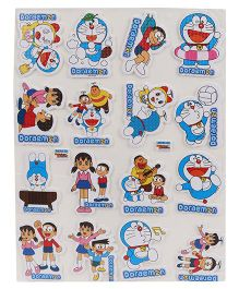 Sticker Bazar Doraemon A4 Foam Sticker Set - Multi Color