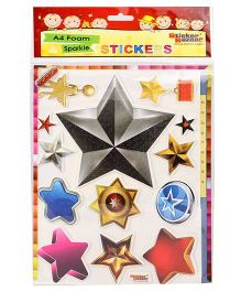 Sticker Bazaar Stars A4 Foam Sticker Set - Multicolor