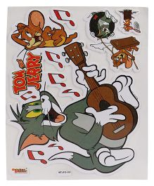 Sticker Bazaar A4 Size Tom & Jerry Foam Sticker - Multi Color