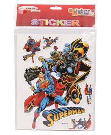 Sticker Bazaar Superman A4 Foam Sticker Set - Multicolor