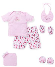 Mee Mee Clothing Gift Set Butterfly Design Pack Of 8 - Pink