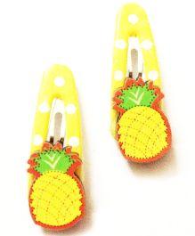 Akinos Kids Pineapple Fruit Tic Tac Clip - Yellow