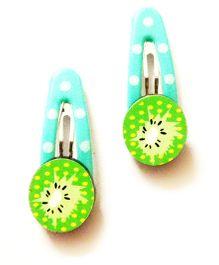 Akinos Kids Kiwi Fruit Tic Tac Clip - Green